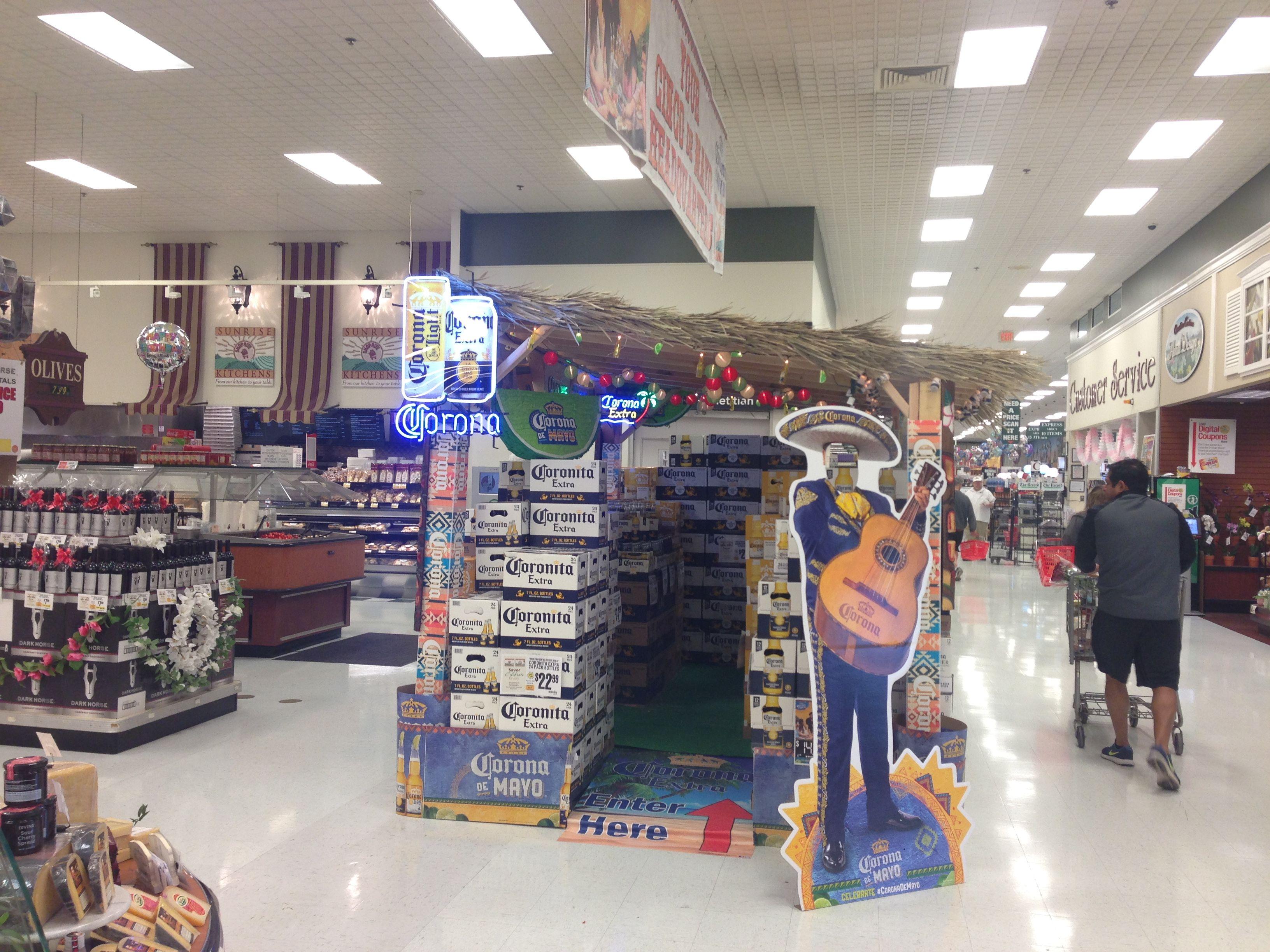 Corona Display ShopRite Parsippany, NJ Retail display