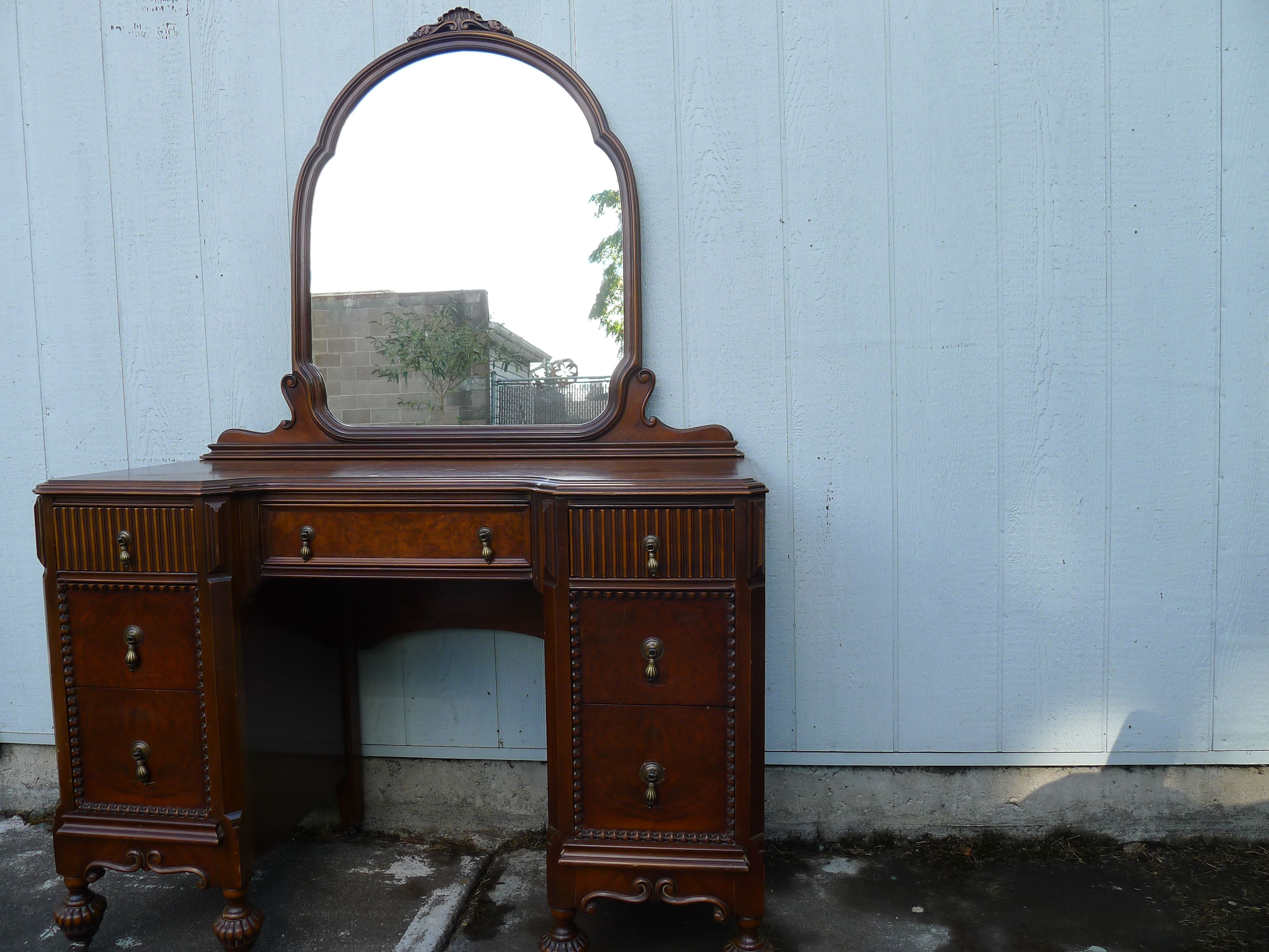 SOLD - Mount Airy Vanity Dressing Table c. 1920-30s from Mount Airy ...