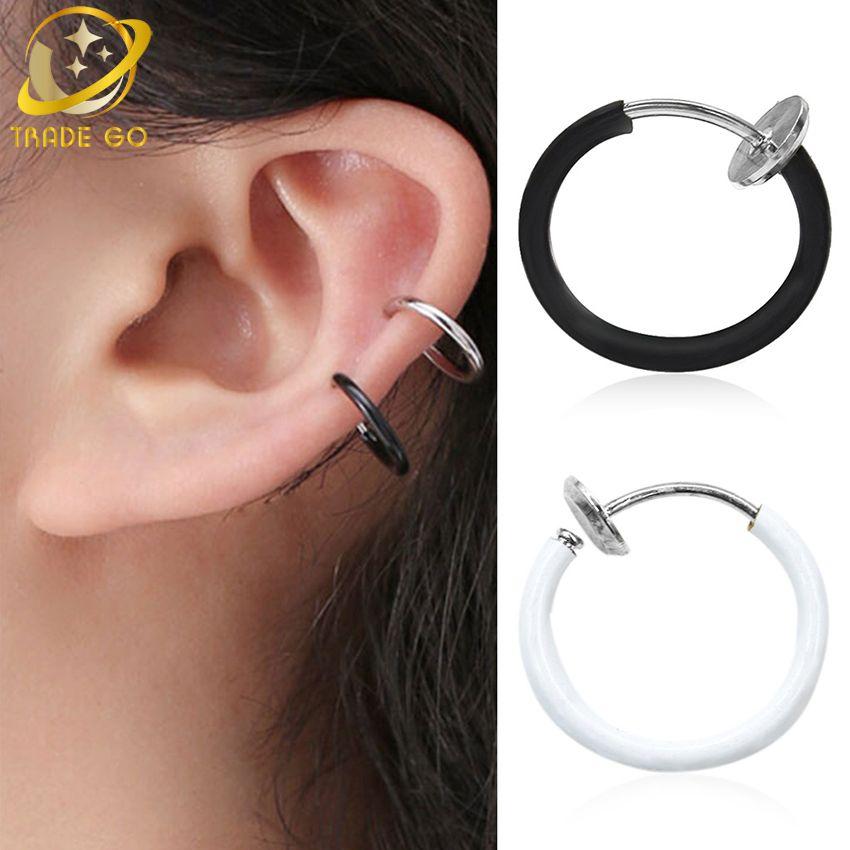 Boucle d'oreille sans trou