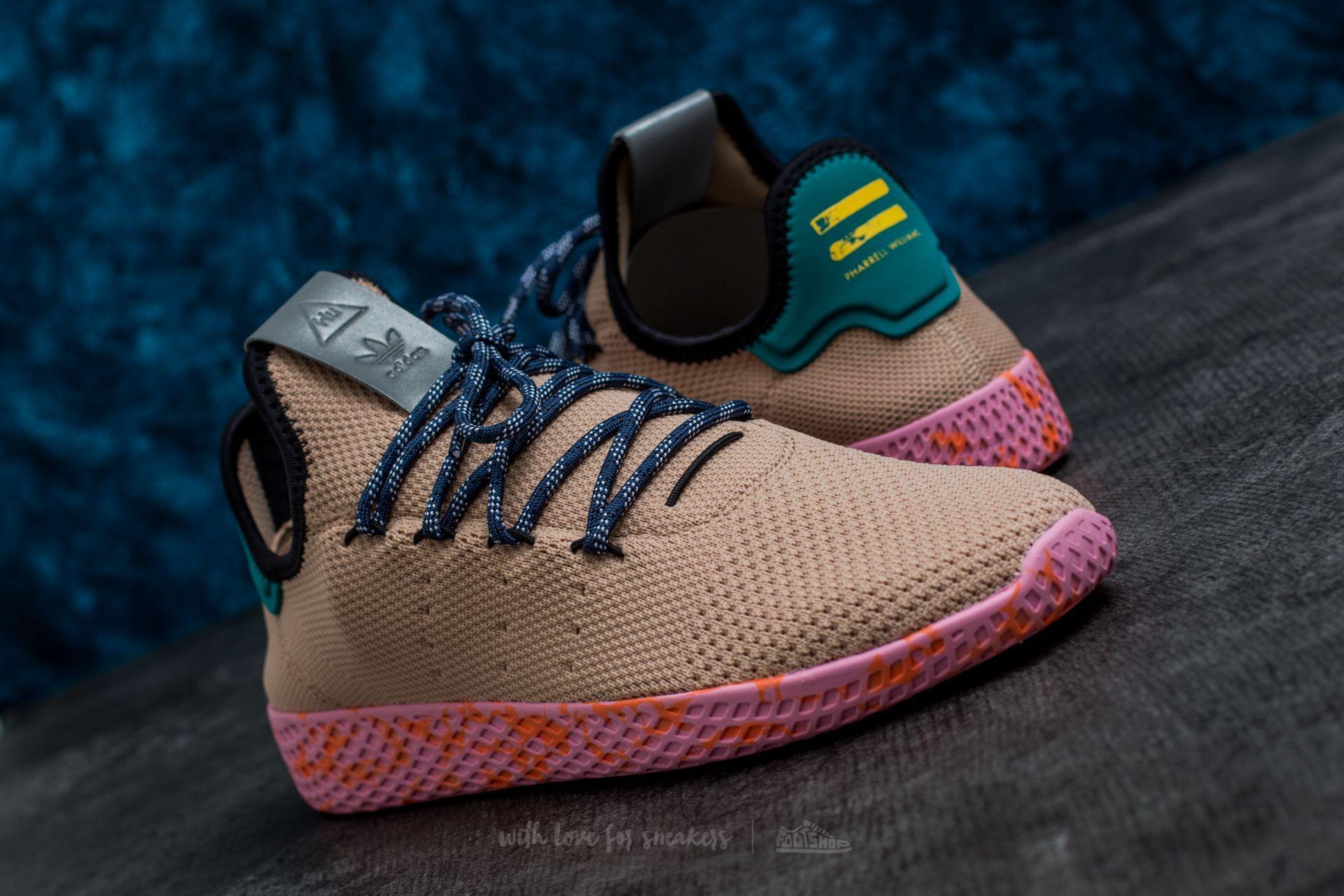 adidas Pharrell Williams Tennis HU Tan