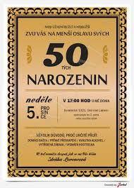 pozvánka na 60 narozeniny ke stažení zdarma