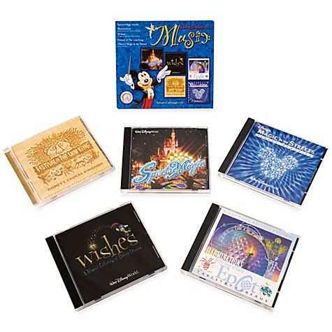 You can buy the music from various events at Disney World. And, if you're like me, you get kind of teary-eyed at Wishes and need to have that music available to cry at home too!