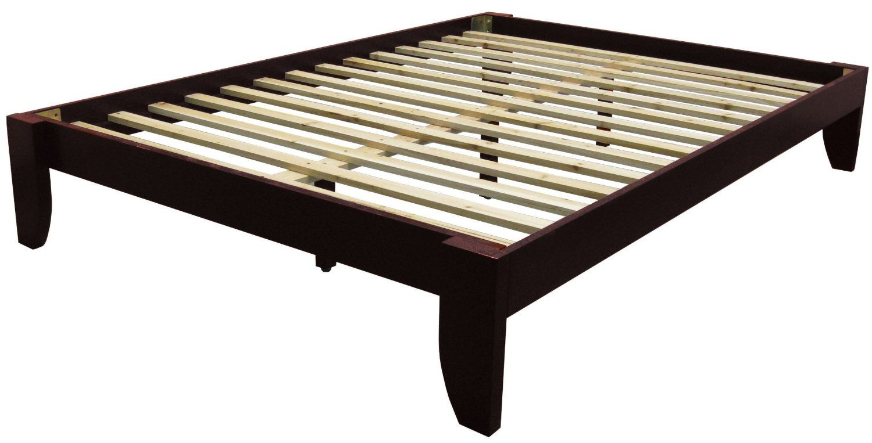 Amazon.com - Epic Furnishings Copenhagen All Wood Platform Bed Frame ...
