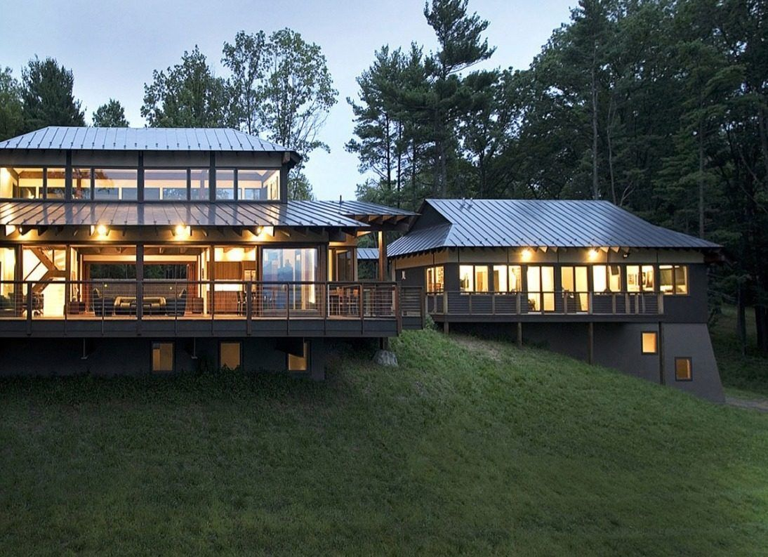 An Asian Inspired Modern Home With Hudson River Views Zen House