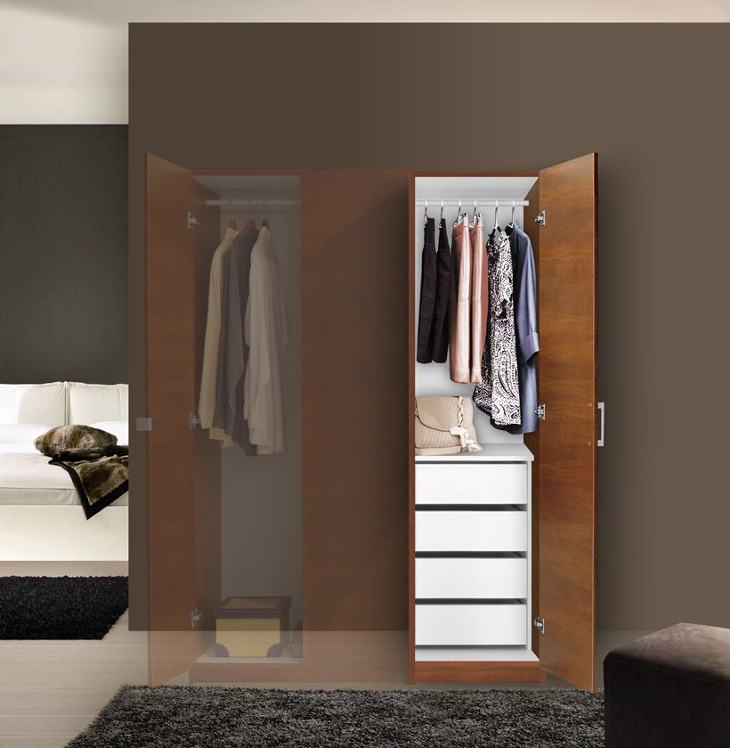 Best Alta Super Space Saver Narrow Wardrobe Right Door 4 400 x 300