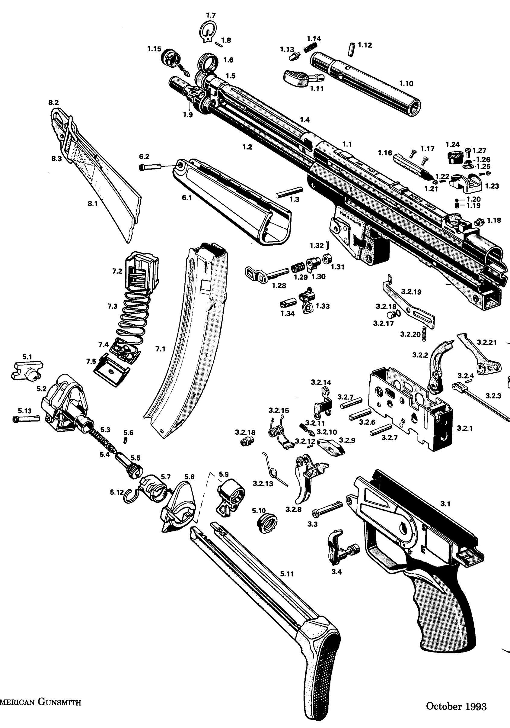 Gunclip Depot Colt Gun Parts Weapons T Armas