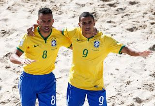 Blog Esportivo do Suíço:  Brasil bate o Irã em jogo duro e vira líder isolado do grupo no Mundial