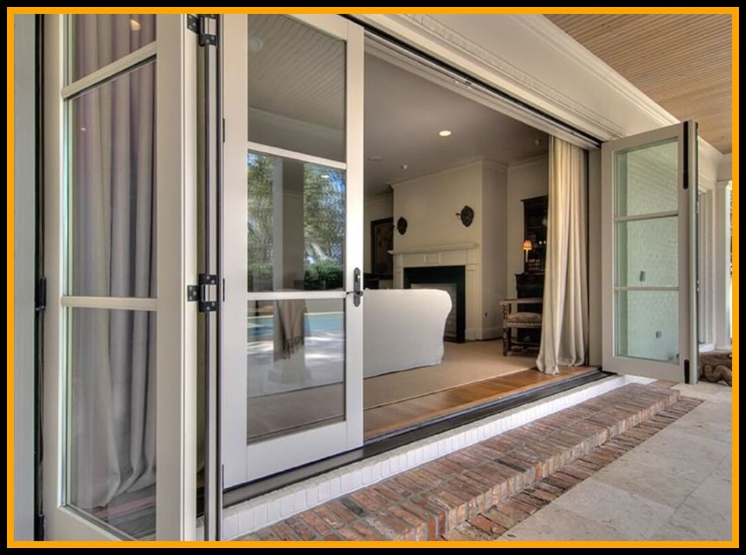 83 Reference Of Sliding Patio Door 3 Panel In 2020 Sliding Doors Exterior Folding Patio Doors Glass Doors Interior