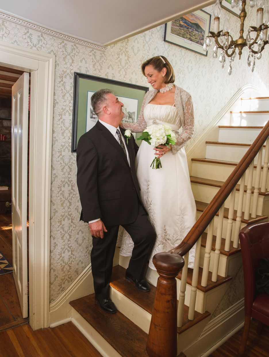 Simple wedding dresses for eloping  Elopement at The Hummingbird Inn  Ward Photography  Shay Michael