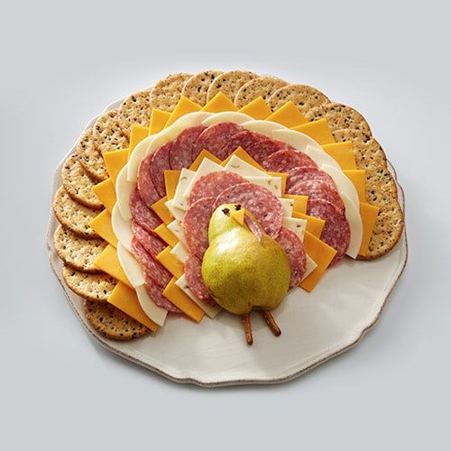 Turkey Tail Cheese Board Fry S Food Stores Recipe Food Cheeseboard Recipe Thanksgiving Appetizer Recipes