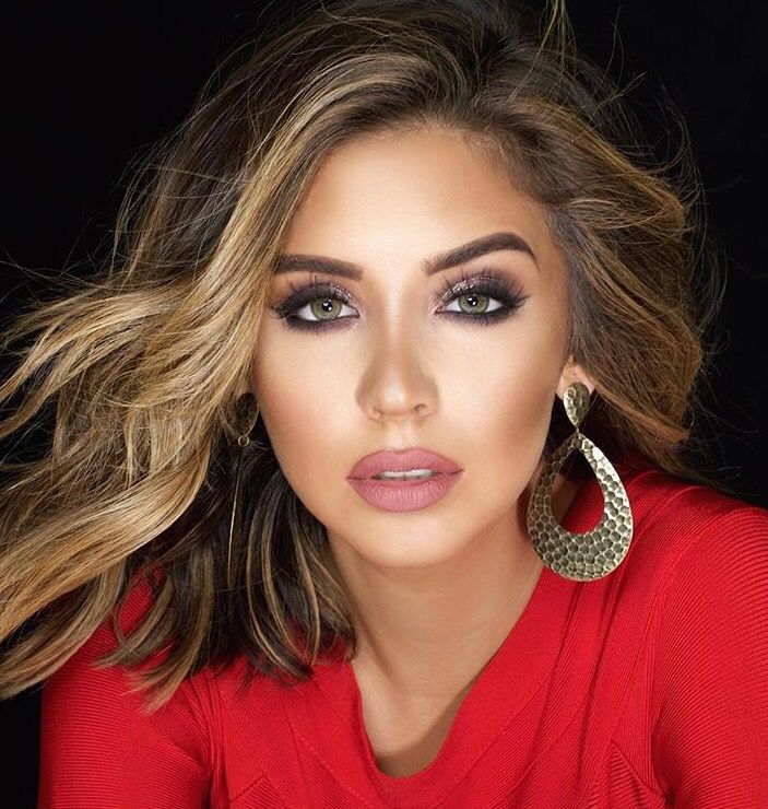 Beautiful Nadia Mejia Miss CA USA Pageant hair, Pageant