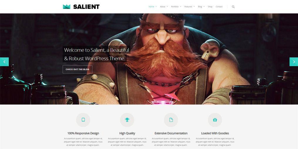 20+ Unique Portfolio WordPress Themes