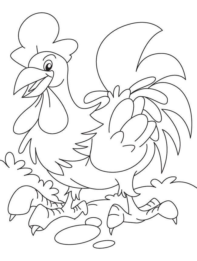 50+ Chicken Shape Templates, Crafts & Colouring Pages ...