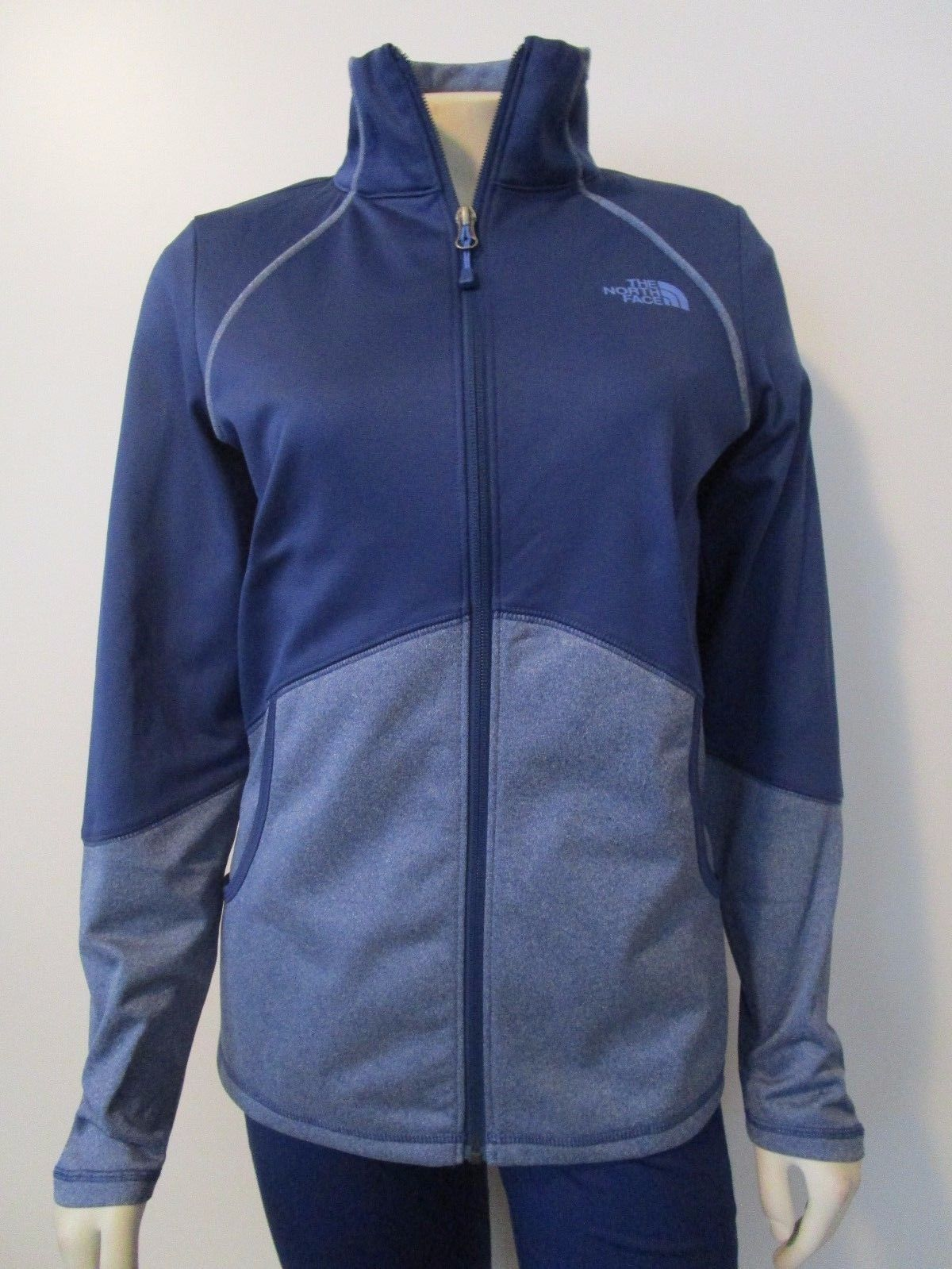 3e28518085a0 Womens Xs-S-M-L The North Face Tnf 100 Cinder Tenacious Fz Fleece Jacket  Blue