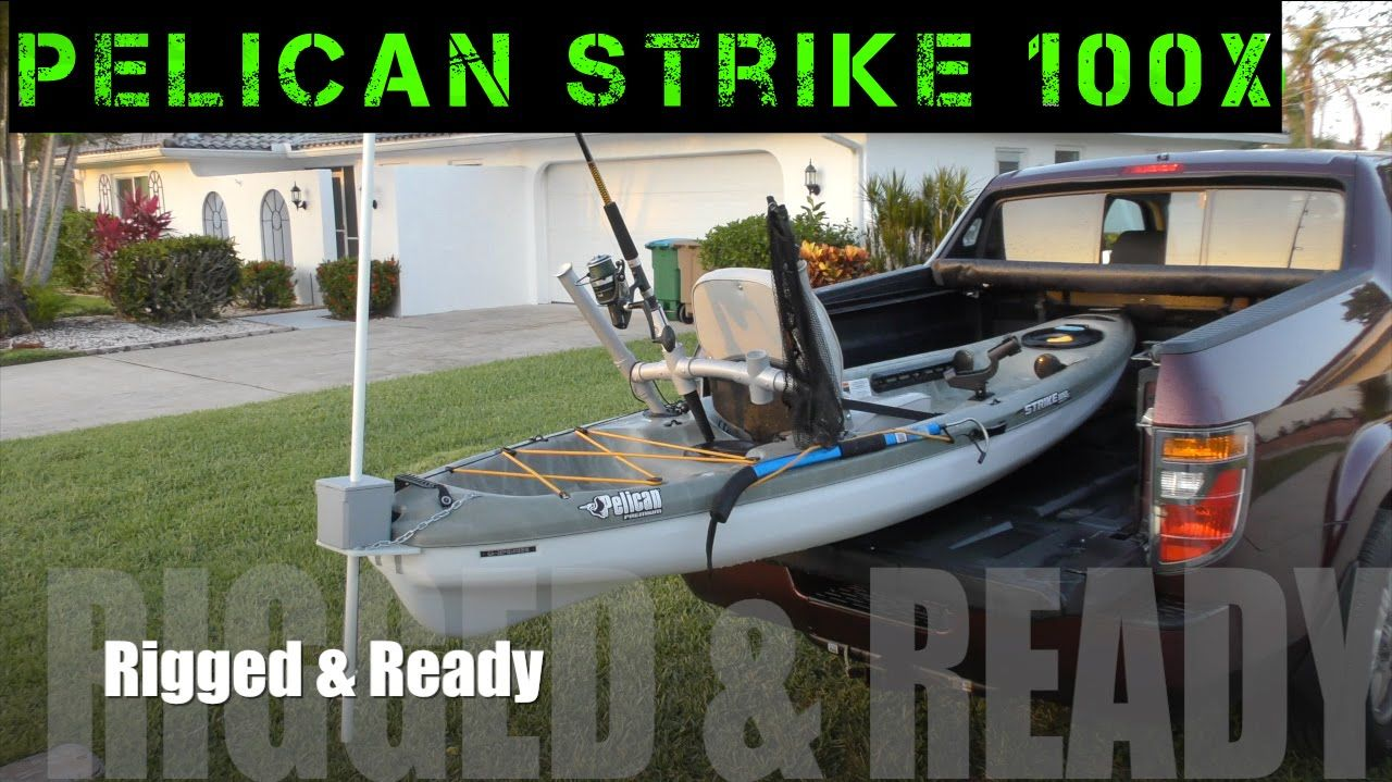 Cool Pelican Strike 100X Kayak Fishing Setup With Diy Anchor Pole Beutiful Home Inspiration Xortanetmahrainfo