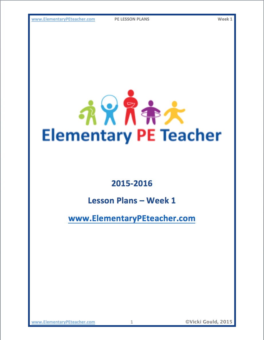 PE Lesson Plan Template – Sample Physical Education Lesson Plan Template