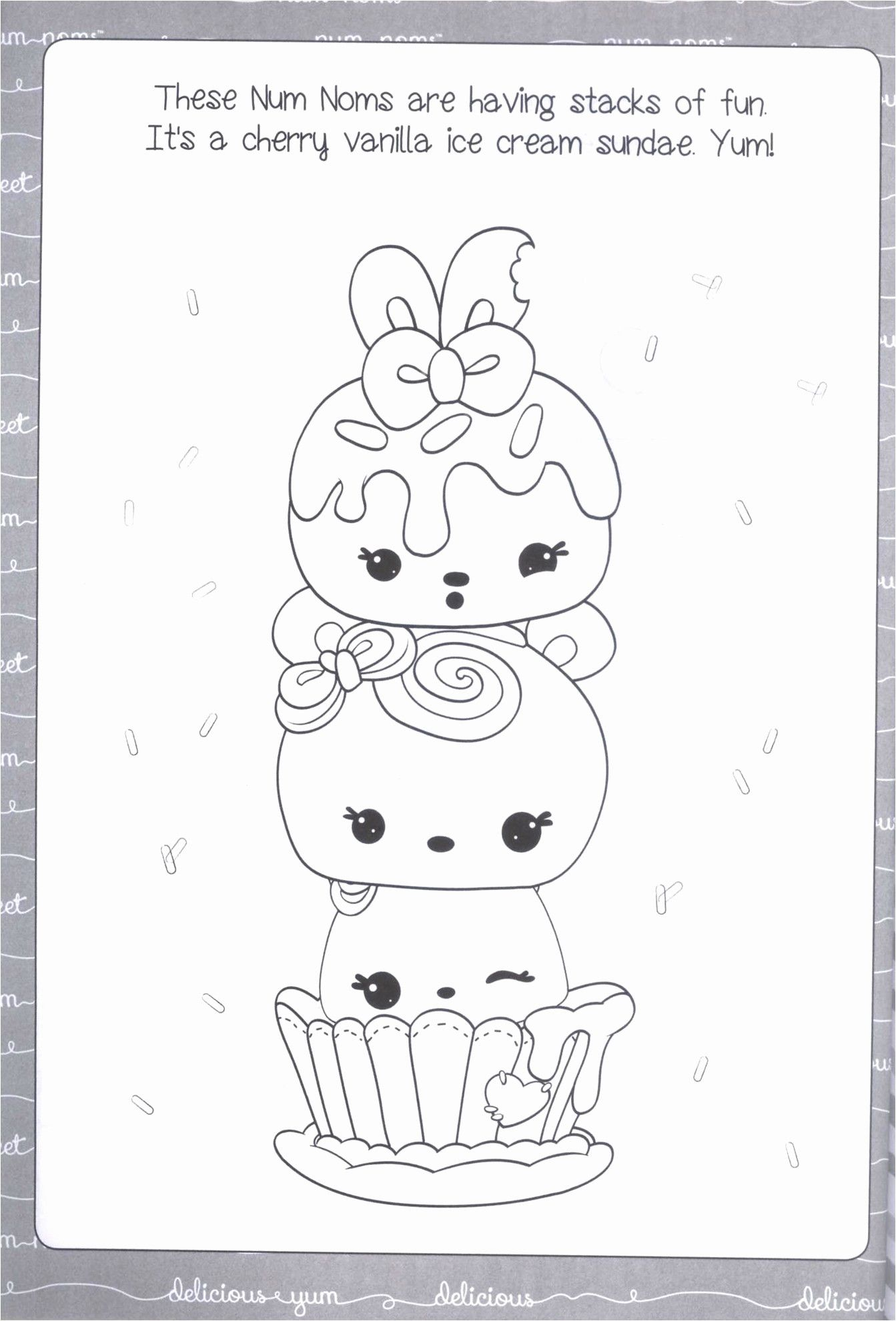 30 Num Noms Coloring Pages To Print And Color Num Noms Ice Cream Truck Coloring Page Coloring Pages Inspirational Coloring Pages To Print Coloring Pages