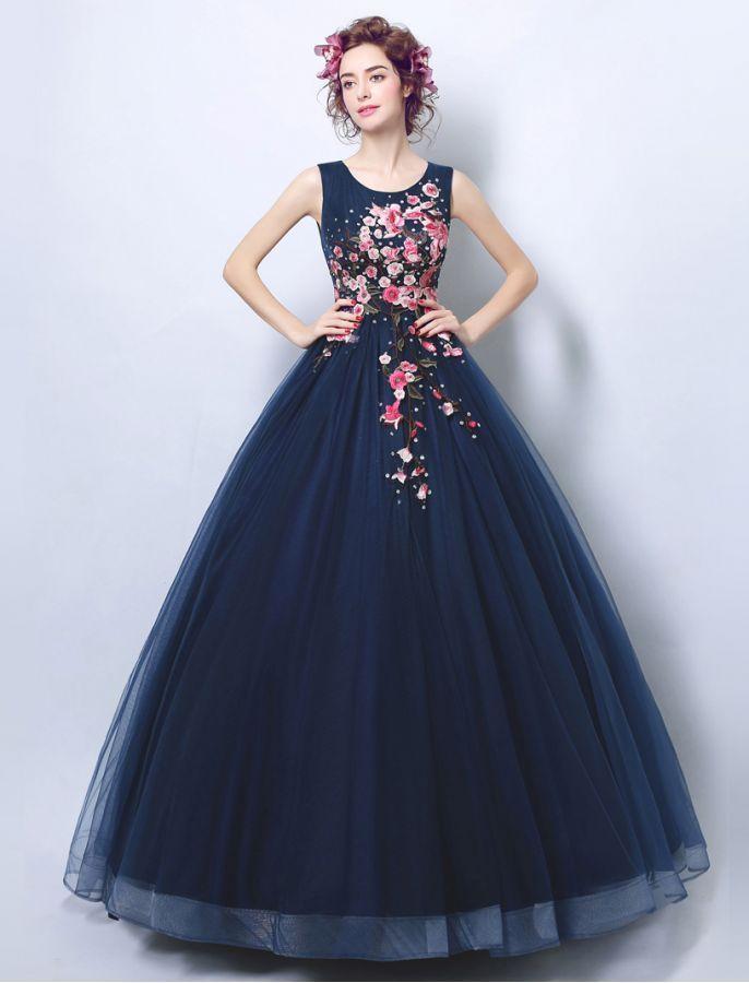 1950s Vintage Inspired Beauty Of Spring School Formal Dress Ball