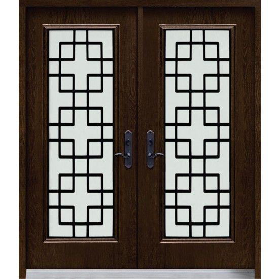 Doorshoppers Com Exterior Door Ferrumtech Collection Tokyo With Images Exterior Doors Wrought Iron Doors Front Entry Doors