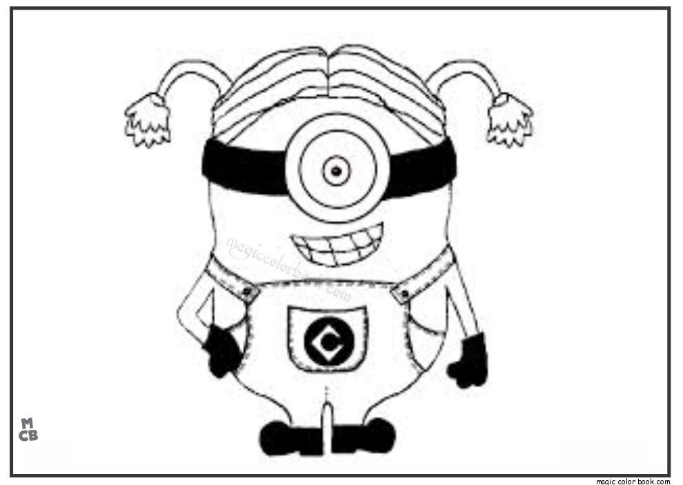 Coloring Pages Minions Banana. Explore Minions Banana Song  Minion and more Pin by Magic Color Book on Coloring pages free Pinterest