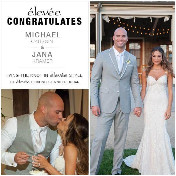 Congrats michael caussin and jana kramer wedding weddingseason congrats michael caussin and jana kramer wedding weddingseason suit fitslikaglove junglespirit Gallery