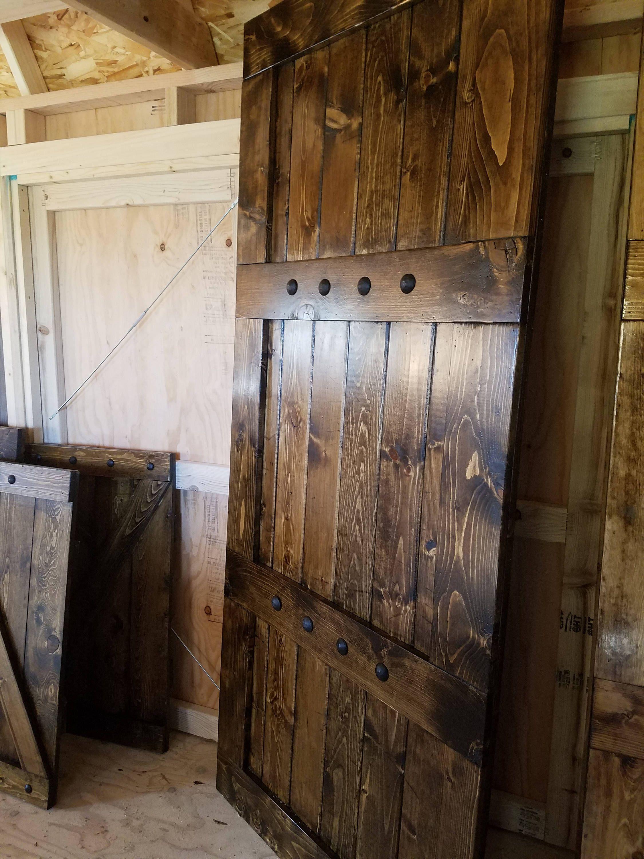 41 farmhouse decor rustic barn doors wood doors interior