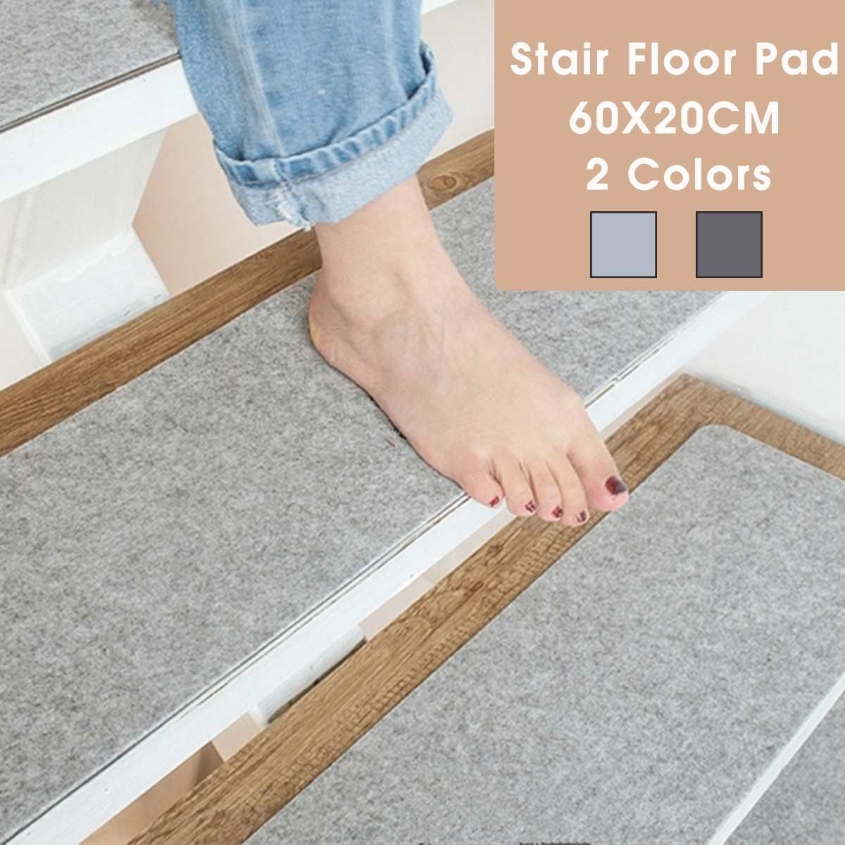 Best Self Adhesive Non Slip Stair Carpet Mat Reusable Washable 640 x 480