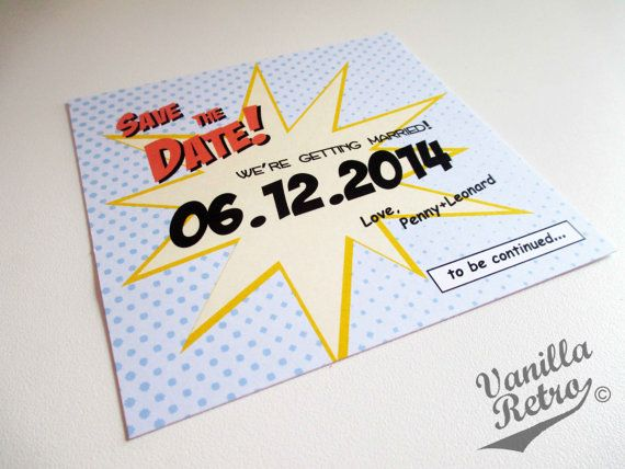 PRINTABLE 5x5 Retro Comic Superhero themed Wedding by VanillaRetro - conference planner template