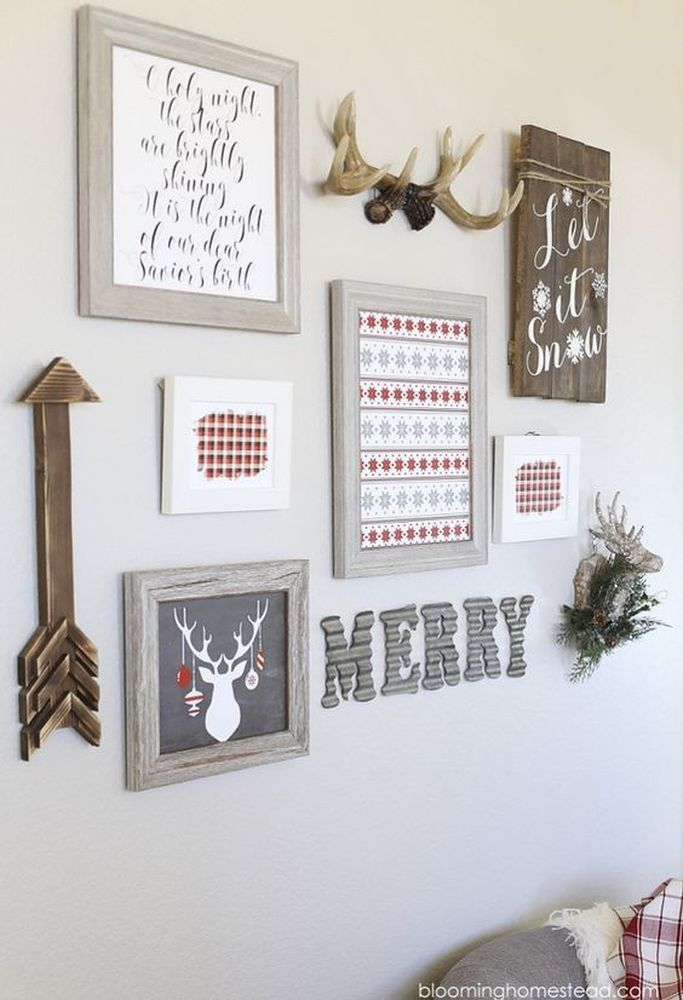 Epic 13 Enchanting Christmas-Themed Wall Decoration https://decoratio.co/2017/12/13/20603/ Christmas day is coming, the most important day through this year. You might want to decorate a Christmas-themed wall decoration for your home.