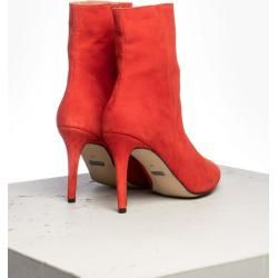 Photo of tigha Damen Stiefeletten Beca rot (goat suede red) Tigha