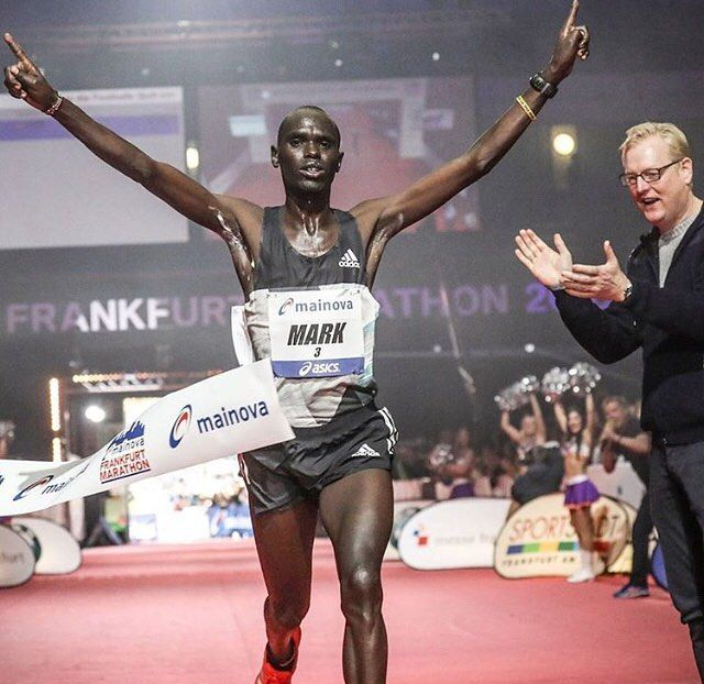 And he winner of Mainova Frankfurt Marathon 2016 is Mark Korir from Kenya with a time of 2h06min. Congratulations  . . . Follow us use hashtag #wonderfulrunning and join the movement . . . . . . . @frankfurtmarathon