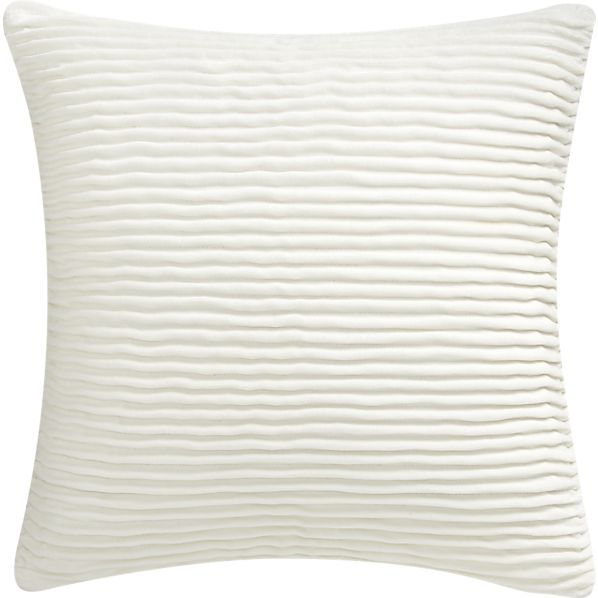 """Lyra Ivory 20"""" Pillow in Christmas Decorating 