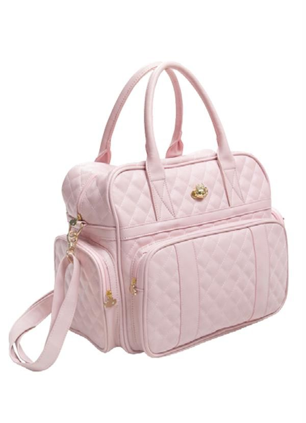 817248c4e Bolsa Maternidade Rosa Lilica Ripilica - Posthaus | bolsos bebe ...