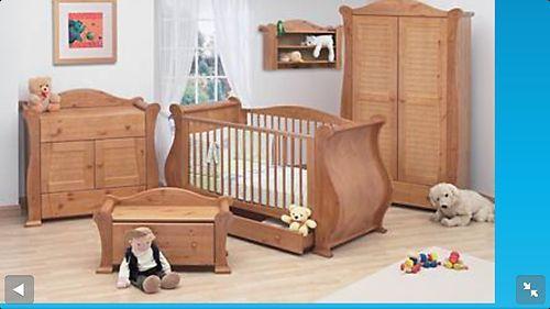 Tutti Bambini Marie Old English 5 Piece Nursery Furniture
