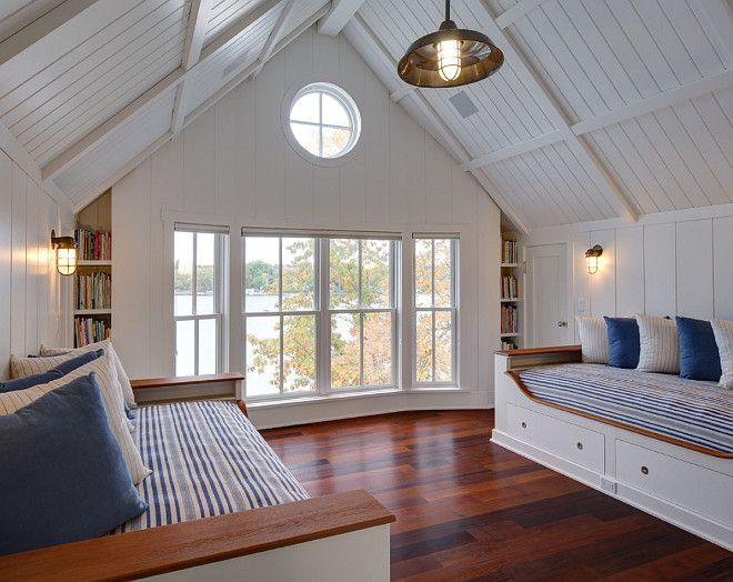 Tongue And Groove Vaulted Ceiling. Bedroom With Tongue And Groove Vaulted  Ceiling. #TongueandGroove Part 97
