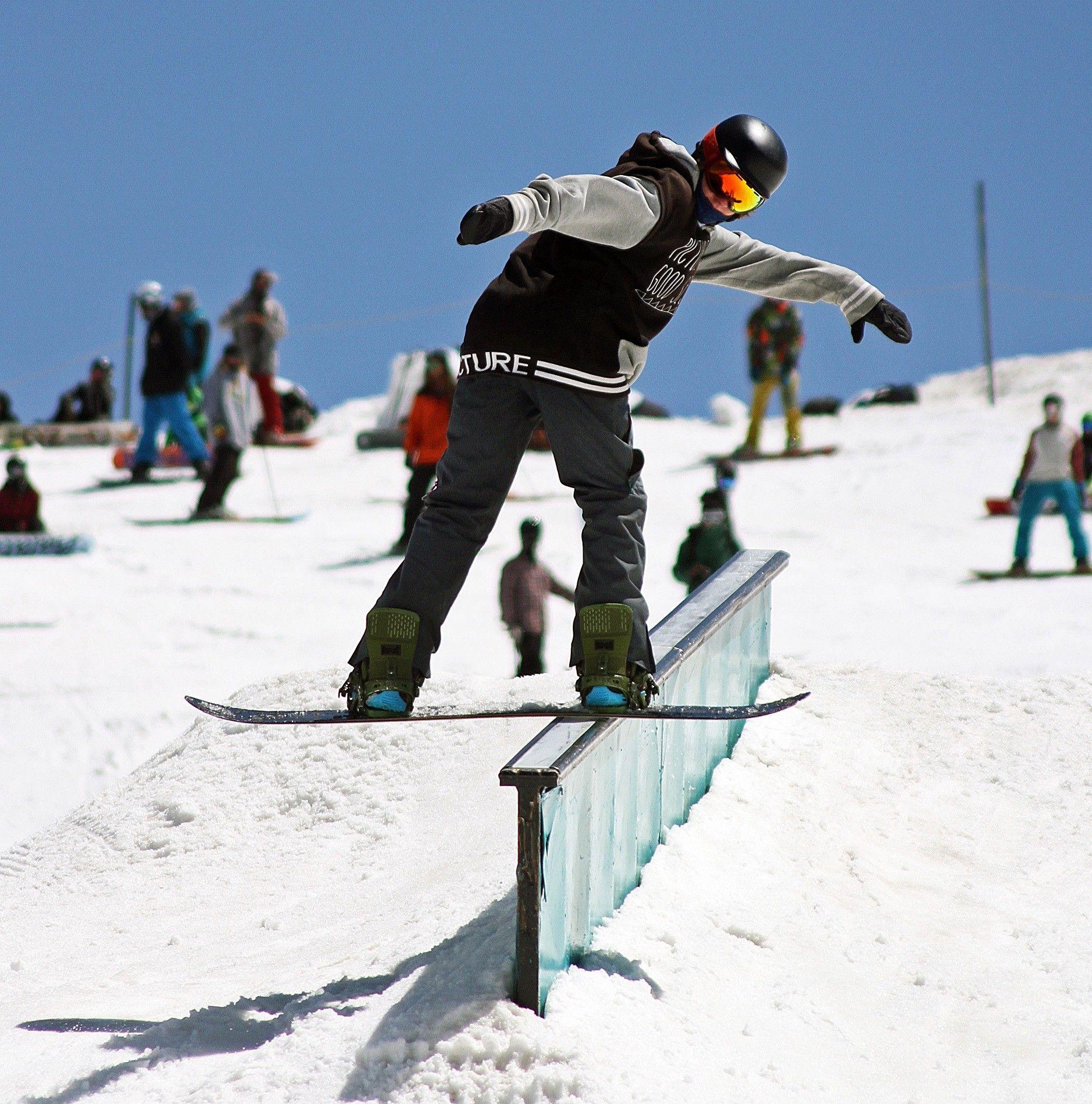 The Keys To Dialling A Frontside Boardslide On A Snowboard Snowboard Snowboarding Dial
