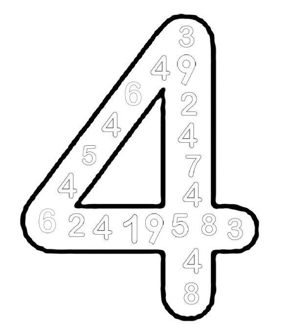title met afbeeldingen cijfers leren gecijferdheid