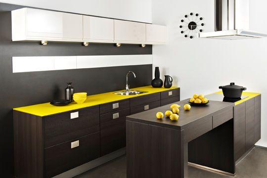 cuisine design pas cher nos 20 mod les pr f r s cuisine pinterest c t maison id e. Black Bedroom Furniture Sets. Home Design Ideas
