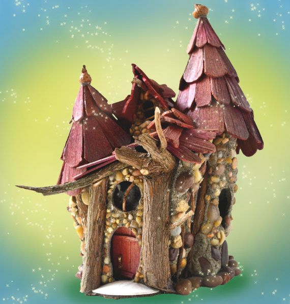 Orcana's Song - a Fairy House with cascading roofs and magical towers