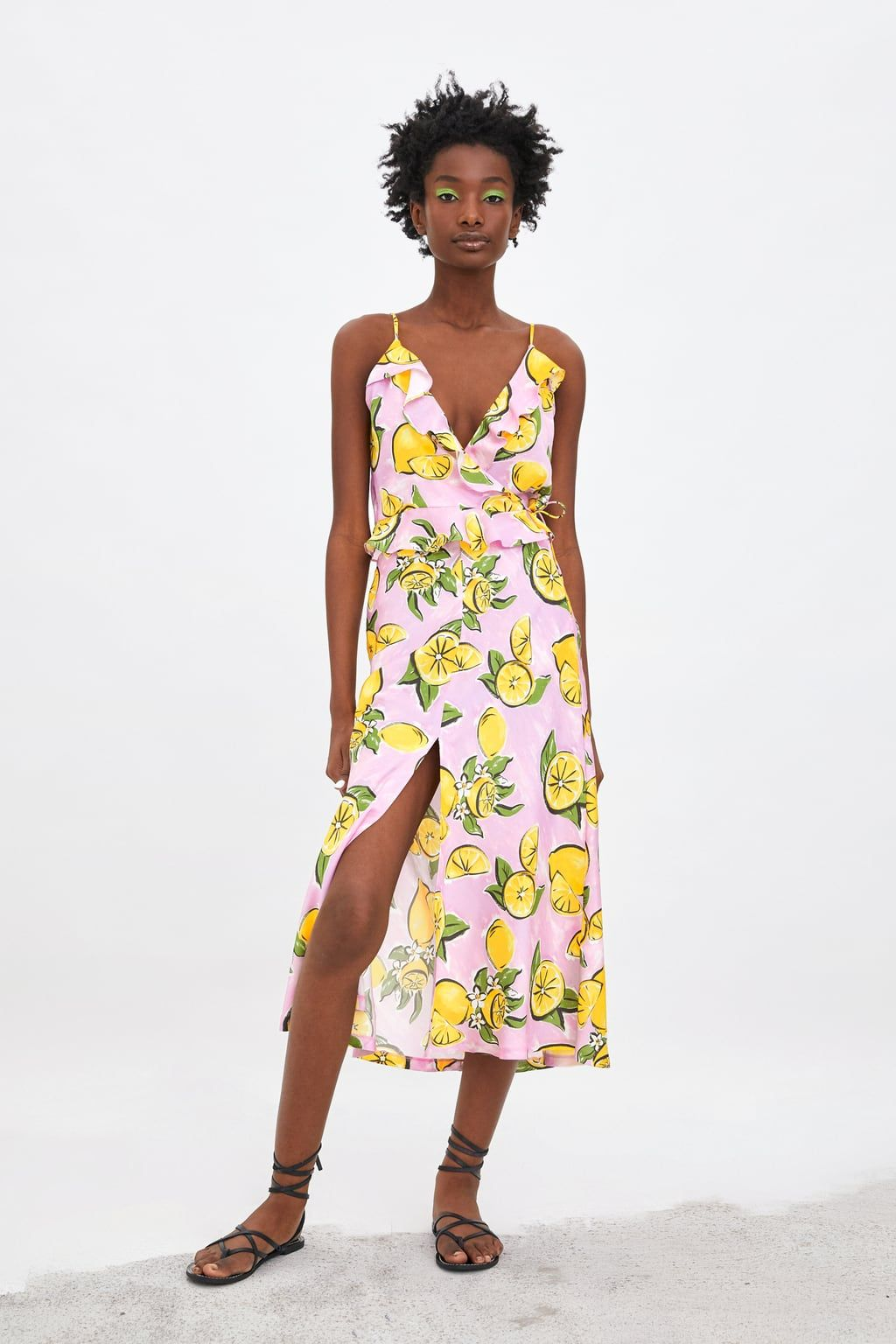 2d680b0a Lemon print skirt in 2019 | clothes | Printed skirts, Lemon print, Lemon