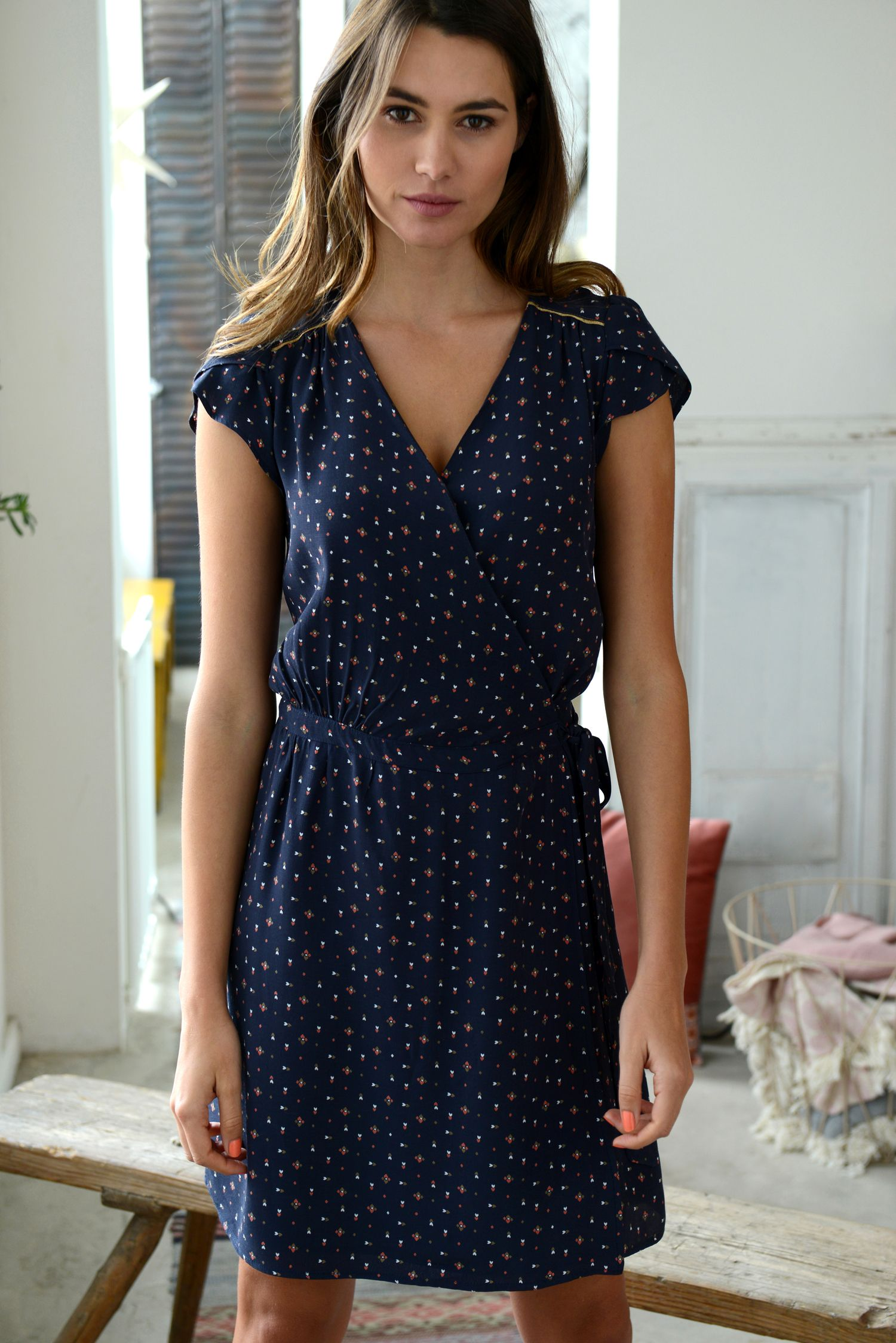 9f6da411c1b Petite robe d  été  lescarnetsdamandine  PromodBoutiqueFrançaise ...