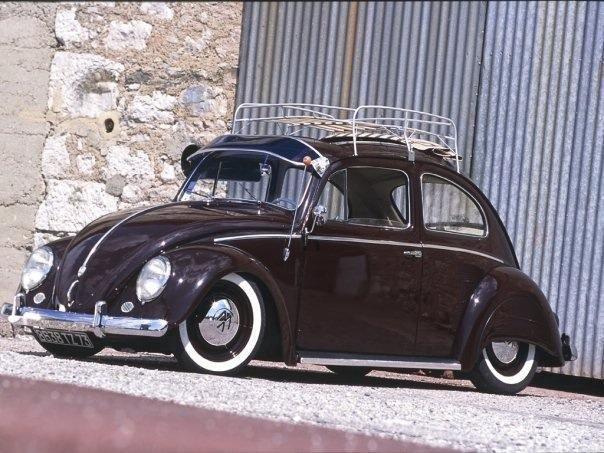Old Skool Vw Beetle Roofrack Vwvisor Cool Old Cars Volkswagen