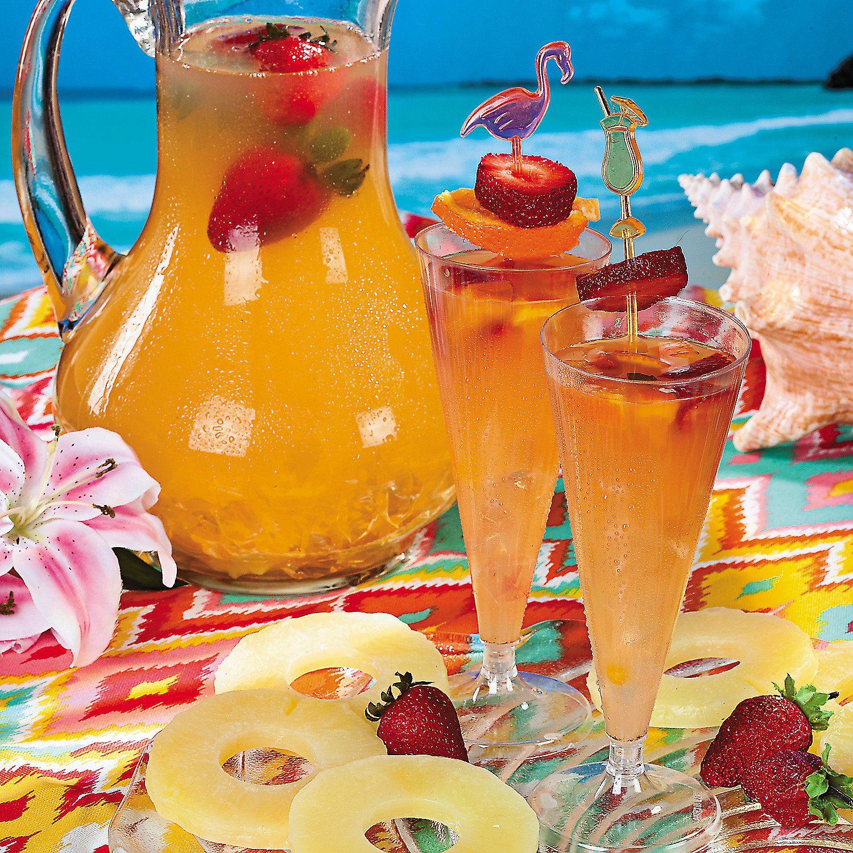 Summer Pineapple Strawberry Cooler - OrientalTrading.com