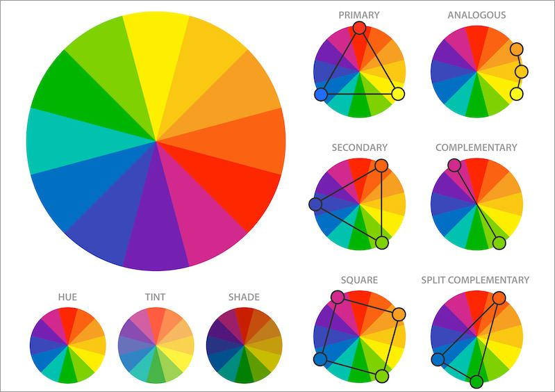 Basics Behind Color Theory For Web Designer Color Theory Color