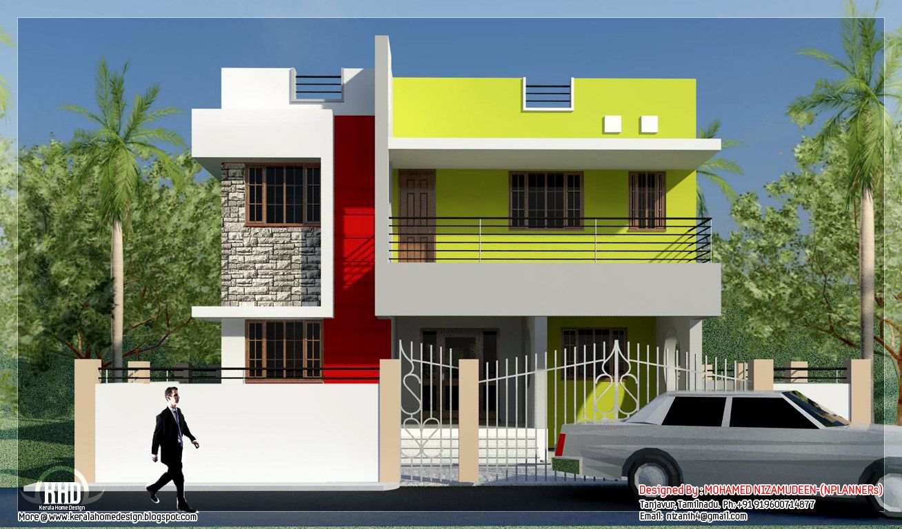 Modern Minimalist Tamilnadu House Design KeRaLa HoMeS