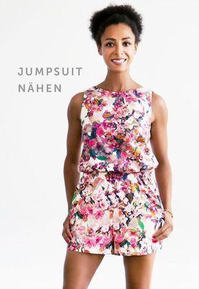 Schnittmuster Jumpsuit | Fashionmakery | Nähen | Pinterest | Sewing ...