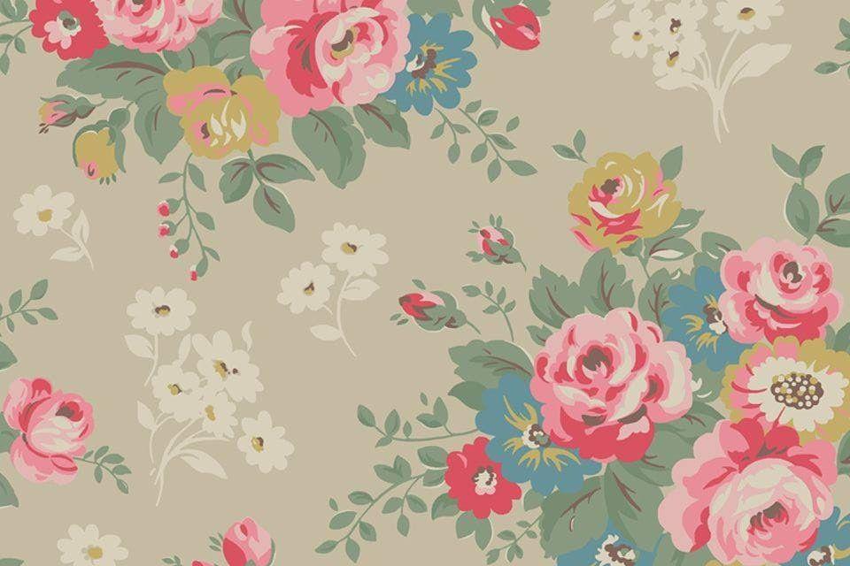Rustic Floral Wallpaper 3