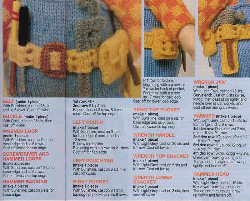 BOŘEK STAVITEL - POSTUP | knitting | Pinterest