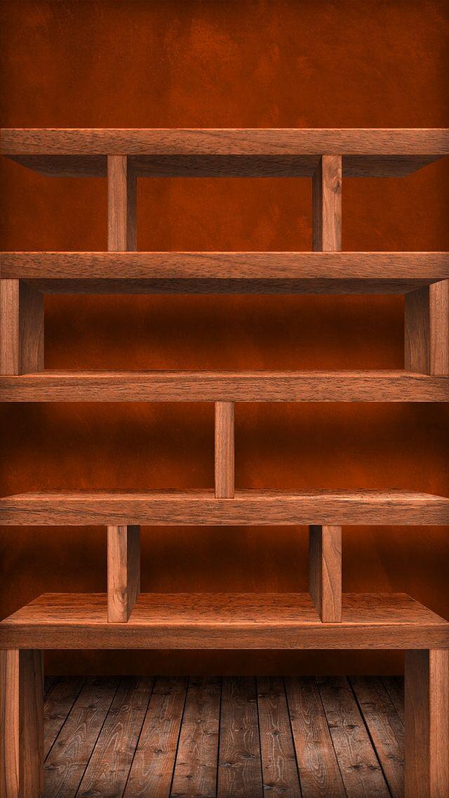 IPhone 5 Home Wallpaper Shelf Shelves
