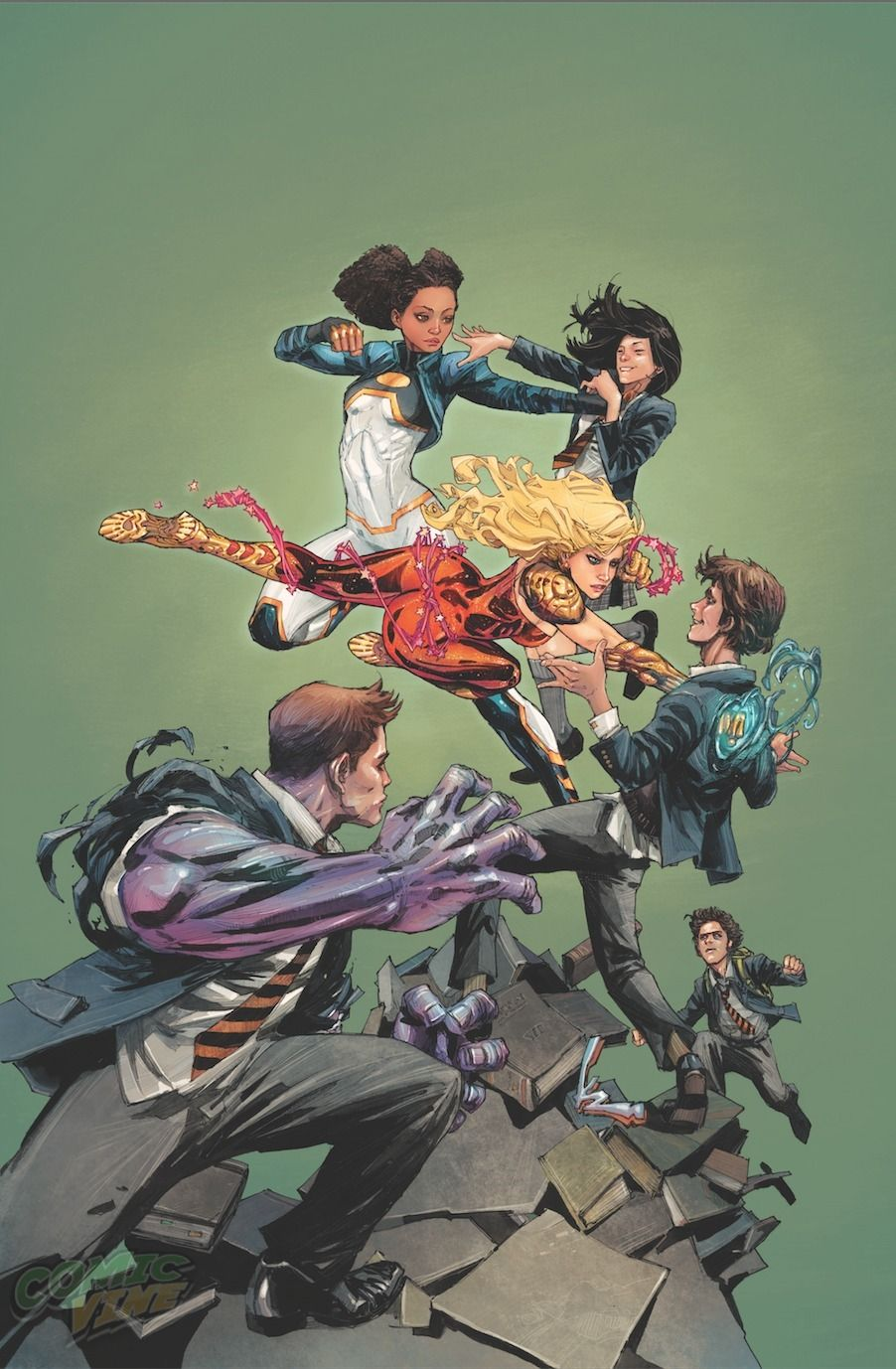 Exclusive Cover Reveal: TEEN TITANS #5 by Kenneth Rocafort